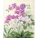 刺繍 刺しゅうキット オリムパス オノエ・メグミ 愛すべき花たち 胡蝶蘭   刺繍キット ししゅう キット 手作りキット …