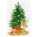 刺繍 輸入キット Luca-S ルーカス B1117 クリスマスツリー Christmas Tree & Fairy 【メール便可】