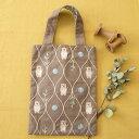 刺繍 Chicchiさんの動物刺しゅうキット くまさんのおさんぽバッグ|エコバッグ サブバッグ 刺しゅうバッグ