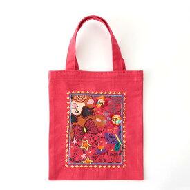 刺繍 コスモ70周年 ステッチを楽しむミニトートセット NOEL 93015 刺繍セット 布バッグ サブバッグ