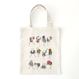 刺繍 コスモ70周年 ステッチを楽しむミニトートセット 北斎漫画 × cosmo 93020 刺繍セット 布バッグ サブバッグ