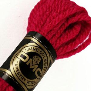 刺しゅう糸 DMC 4番 レッド・ピンク系 タペストリーウール 7108 【メール便可】|ししゅう糸 刺繍糸 ディー・エム・シー DMCの糸 ウール糸 タペストリー糸 ニードルポイント