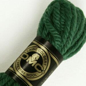 刺しゅう糸 DMC 4番 グリーン系 タペストリーウール 7541 ししゅう糸 刺繍糸 ディー・エム・シー DMCの糸 ウール糸 タペストリー糸 ニードルポイント