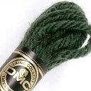刺しゅう糸 DMC 4番 グリーン系 タペストリーウール 7398 【メール便可】|ししゅう糸 刺繍糸 ディー・エム・シー …