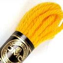 刺しゅう糸 DMC 4番 イエロー・オレンジ系 タペストリーウール 7785 【メール便可】|ししゅう糸 刺繍糸 ディー・…