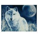 刺繍 輸入キット Golden Fleece(ゴールデンフリース) White wolf