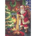 刺繍 Luca-s Santa Claus (プレゼントリスト)