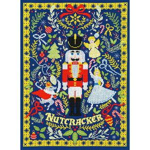 輸入刺繍キット Bothy Threads XX17 The Christmas Nutcracker クリスマス くるみ割り人形   刺繍キット クロスステッチ キット ナッツクラッカー 兵隊人形 クララ 金平糖