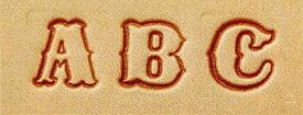 レザークラフト アルファベット刻印セット 13mm 8301 (ネコポス不可)
