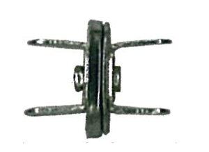 足折れマグネットボタン 薄口 直径14mm 4ヶ入 アンティークゴールド AK-38-14AG (メール便可) 入園入学準備 ステイホーム おうち時間 手芸男子
