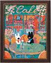 【PCエントリーでP10倍 5/1(9:59)まで】【送料無料】 パリのお散歩(クロスステッチ)春のカフェ NO_8531 (ネコポス不可・ゆうパケット不可)