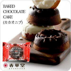 【うなぎパイの春華堂】BAKED CAKE(カカオニブ) おたのしみ プチギフト チョコレート お菓子 スイーツ おかし ギフト かわいい おしゃれ 焼き菓子 洋菓子 お礼 御礼 プチギフト バレンタイン ホ
