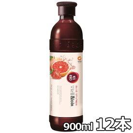 【送料無料】紅酢 いちご&グレープフルーツ 900ml 12本
