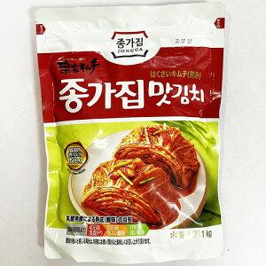 韓国 宗家 白菜 カット キムチ 1kg 韓国産 食品 食材 料理 おかず おつまみ 発酵食品