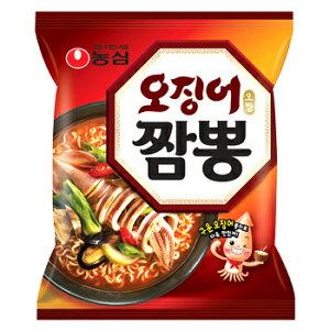 【送料無料】農心 イカ チャンポン 麺 10袋 韓国 食品 食材 料理 お土産 ラーメン 乾麺 インスタントラーメン 海鮮ラーメン