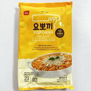 ヘテ ヨポッキ チーズ ラポッキ 260g 2人前 トッポッキ + 麺 + ソース付き モチモチ 即席 トッポキ トッポギ トッポキ 韓国 食品 おやつ 非常食