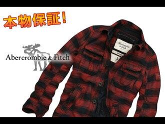 艾伯克龍比男裝夾克周杰倫範圍紅 (S、 M、 L、 XL) (購物馬拉松,點 10 倍! 男裝,新的、 超過 800 日元,樂天低點的挑戰! 正版,禮品!)
