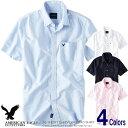 アメリカンイーグル メンズ 半袖 オックスフォードシャツ AE SHORT SLEEVE OXFORD SHIRT 4色 (2154-1517) S M L XL XX…