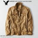 ■アメリカンイーグル メンズ ミリタリー シャツジャケット カーキ (2101-9873) S M L XL XXL あす楽 10800円以上 送料無料 ! メ...