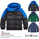 ■送料無料!ポロ・ラルフローレン ボーイズ ダウンジャケット Hooded Down Jacket 3色 (フード取り外し可能) POLO RA…