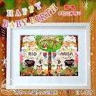 ★出産祝★ベビーバース【森の音楽隊】中村メグミデザイン