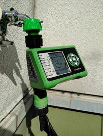 <関東〜九州は送料無料>らくらく水やり 4パターン自動水やりタイマー(デジタル散水タイマー)