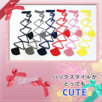 ★Six colors of ♪ color variations very cute see-through ribbon ★ back figure♪