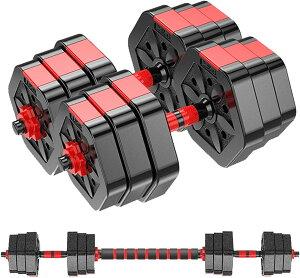 ダンベル 10kg 2個セット 合計20kg ダンベル セット 10キロ 10kg バーベル メンズ レディース 鉄アレイ 筋トレ 筋肉 グッズ ジム 自宅 ウェイト トレーニング