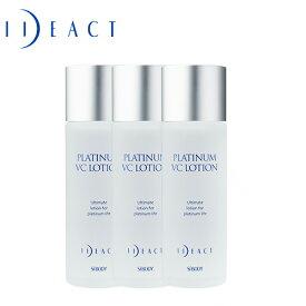 イデアアクトプラチナVCローション 化粧水(けしょうすい) 100mL 3個セット