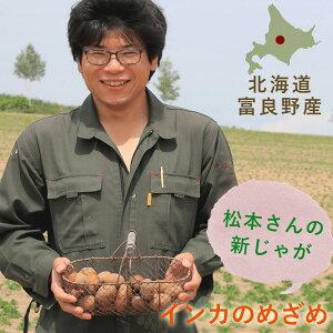 松本さんのインカのめざめ 【3kg】 新じゃが  ◆ 北海道富良野産 / じゃがいも 新鮮 甘い 北海道産 業務用 お試し価格