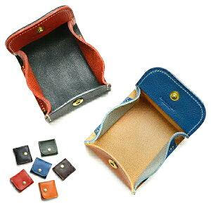 コインケース 革 メンズ レディース 小銭入れ 財布 小さい 栃木レザー ブランド ミニ財布 皮 本革 本皮 牛革 牛皮 日本製 ボックス型小銭入れ 小型 小さい コンパクト 見やすい 可愛い かわい