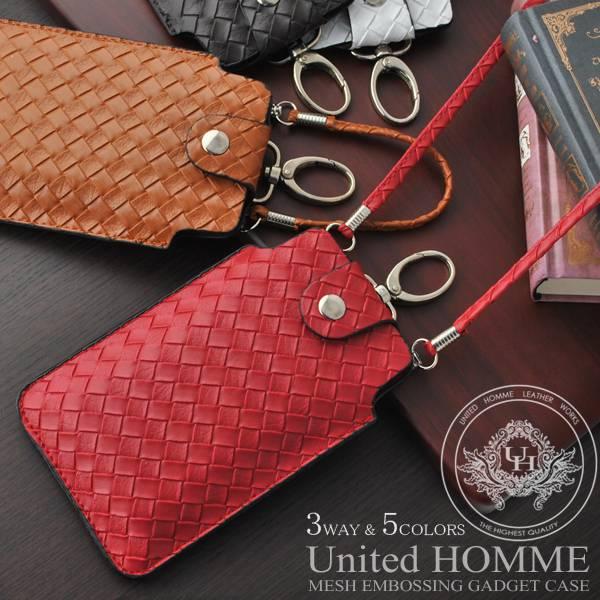 United HOMME(ユナイテッドオム)イントレチャート3wayスマートフォンケース iPhoneケース for iPhone4・iPhone5【携帯電話 ケース カバー スマートホン アンドロイド ギャラクシー】DEL-L05 バレンタイン