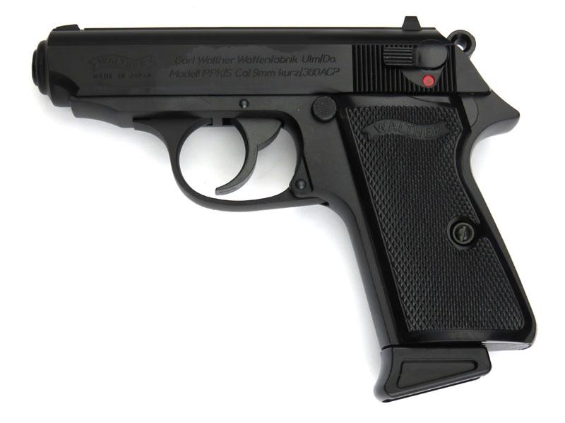 マルゼン ワルサーPPK/S ブラックモデル