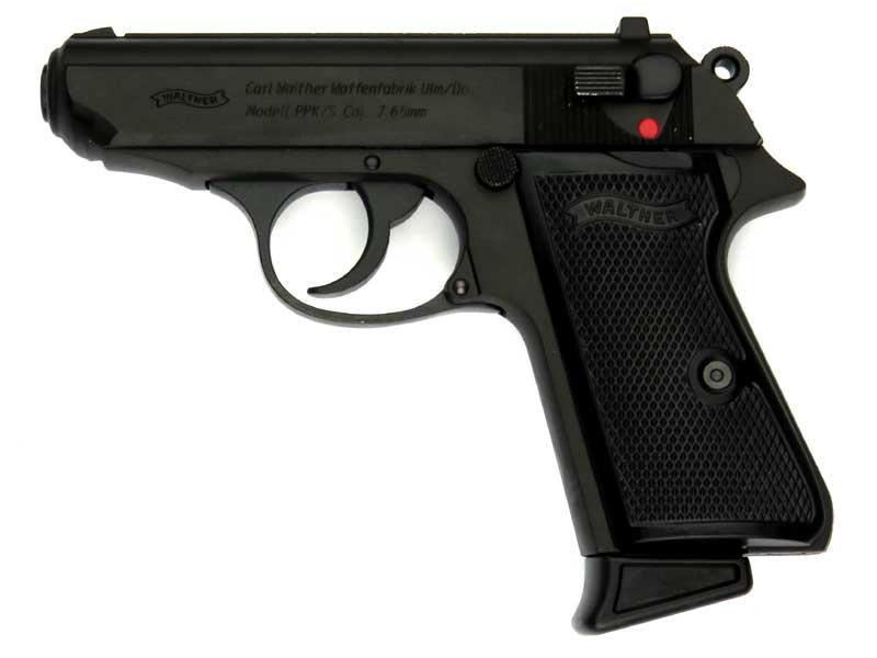 マルシン ワルサーPPK/S ブラック ヘビーウェイト 発火式モデルガン