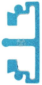 Anvil 東京マルイ Hi-CAPA、M1911A1シリーズ対応インターチェンジブルトリガーベース対応 トリガーフロントピース ミディアムフラット ブルー