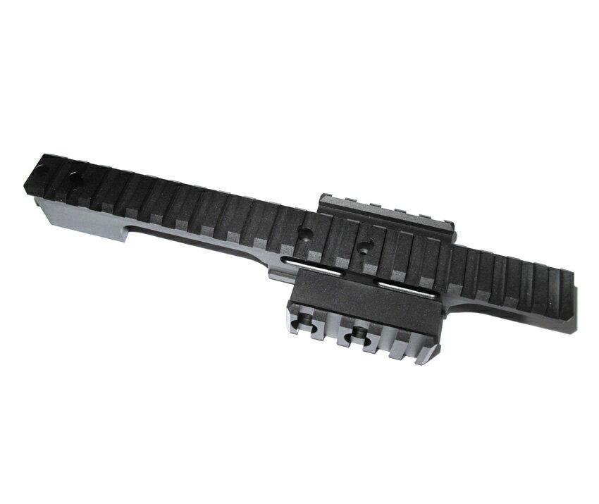 WII TECH 東京マルイ VSR-10シリーズ専用 MARSタイプ ミディアムレールマウントベース