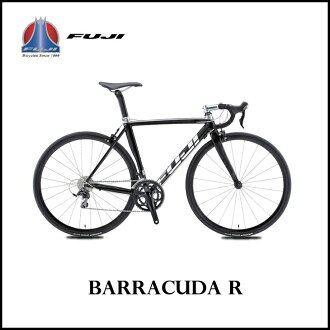FUJI wisteria BARRACUDA R barracuda MIRROR BLACK 49cm FUJI BIKES aluminum road motorcycle finished vehicle bicycle