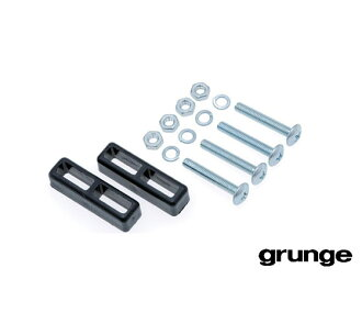 GRUNGE to clip adapter BLACK