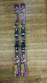 Fun The Stick 120 130 140riot ski ライオット スキー 国内正規品 保証書付 FREESKI+チロリアSLR4.5AC Jr用フリースタイルスキー 子供だって飛びたい いや子供こそ飛びたいんだ!大幅調整可能ビンディング付 低価格Jr用フリスタイルスキーセット