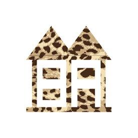 インハビタント ハウスステッカー SA(ひょう柄)大 INHABITANT HOUSE STICKER SA(ひょう柄) BIG 土日祝発送可能品 IH378AZ07SA