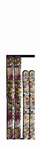 Fun The Stick 120 130 140riot ski ライオット スキー激レアブランド国内正規品 保証書付 FREESKI フリースタイルスキーJr用フリースタイルスキー 子供だって飛びたい いや子供こそ飛びたいん