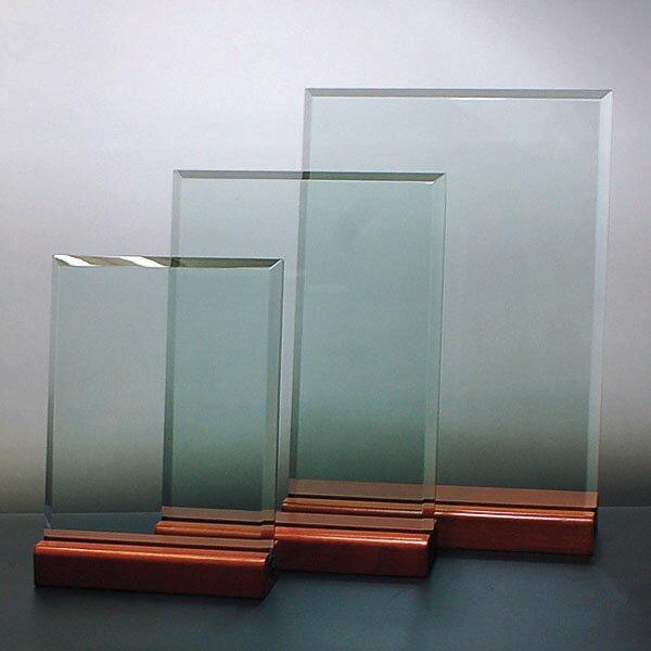 重厚な厚みのガラスプレート『小』150x200mm