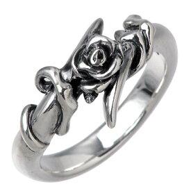 GIGOR【ジゴロウ】 リング 指輪 レディース ローズ シルバー 薔薇 925 スターリングシルバー NO-163