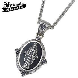 Artemis Classic【アルテミスクラシック】 ネックレス レディース オニキス シルバー 黒衣聖母 キュービック 925 スターリングシルバー ACP0239