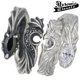 Artemis Classic【アルテミスクラシック】 リング 指輪 ペアー シルバー メンズ ドラゴン & フェニックス ハート ストーン 13〜25号 925 スターリングシルバー ACR0209-0210-P