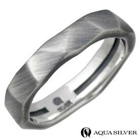 AQUA SILVER【アクアシルバー】 リング 指輪 メンズ シルバー 13〜21号 925 スターリングシルバー ASR175F