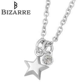 ビザール Bizarre ネックレス レディース クリスタル エトワール シルバー ジュエリー スター 星 誕生石 925 スターリングシルバー BNJ002CR