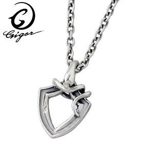 GIGOR【ジゴロウ】 ネックレス レディース スネーク ジオスネイブ シルバー 蛇 メンズ NO-349SV
