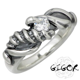 ジゴロウ GIGOR リング 指輪 レディース シルバー ジュエリー ストーン レディム 925 スターリングシルバー NO-231