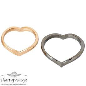 【ハートオブコンセプト】HEART OF CONCEPT シルバー ジュエリー ペアリング 指輪 エターナルラブ ハート 6〜16号 12〜22号 ピンク ブラック HCR-284LPK-MBK